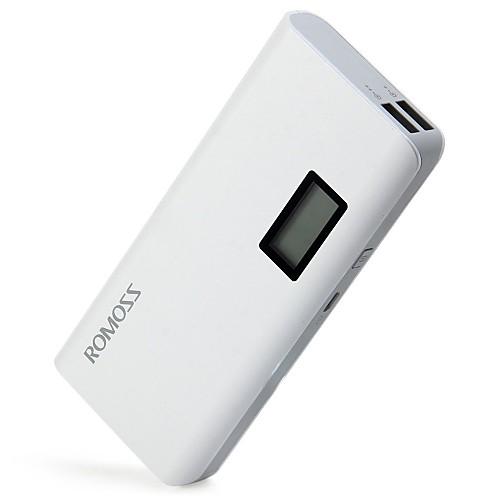 Портативное зарядное устройство, внешний аккумулятор с LCD, ROMOSS Sense4 Plus 10400mAh от MiniInTheBox INT