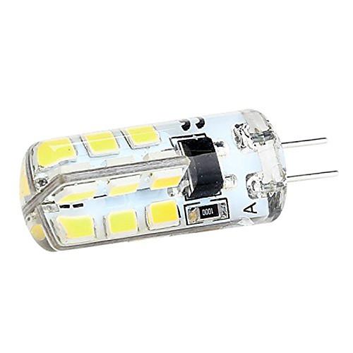 3w g4 водить двухштырьковыми огни T 24 СМД 2835 280 лм теплый белый / холодный белый декоративный DC 12 10 шт от MiniInTheBox.com INT