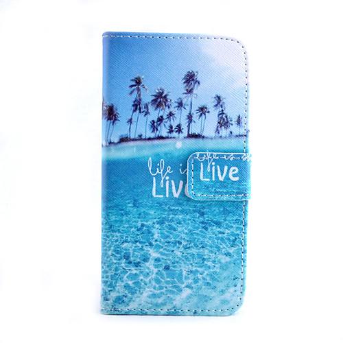 Кейс для Назначение SSamsung Galaxy Кейс для Samsung Galaxy Бумажник для карт Кошелек со стендом Флип Чехол Пейзаж Кожа PU для S6 edge клип кейс ibox fresh для samsung galaxy s5 mini черный