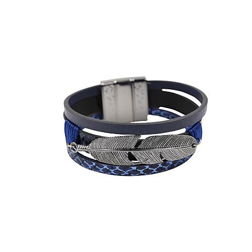 Женский кожаный браслет, магнитная пряжка от MiniInTheBox.com INT