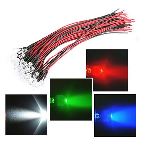 RGB ленты 1 светодиоды ДИП светодиоды RGB / Белый / Красный Водонепроницаемый 12 V / IP44 светодиоды