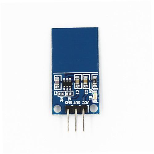 цифровой емкостной модуль переключатель датчика касания для Arduino - синий