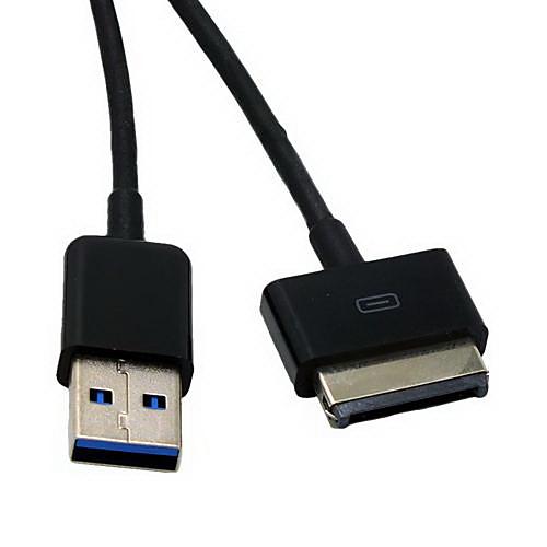 USB 3.0 устройство кабель для передачи данных синхронизации шнур для ASUS Eee Pad Transformer TF201 премьер / TF101 / TF300 / TF700T (1м, usb 2 0 otg adapter for asus eee pad transformer tf101 tf201 white
