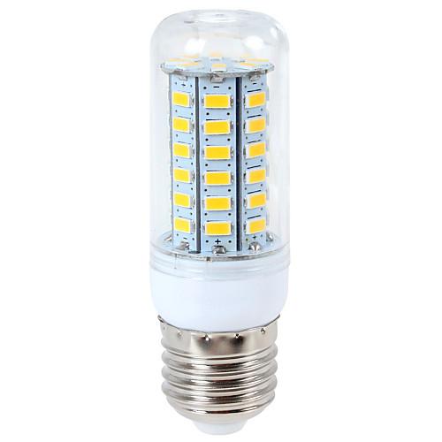 1шт 12 W 1200 lm E14 / G9 / E26 / E27 LED лампы типа Корн T 56 Светодиодные бусины SMD 5730 Тёплый белый / Холодный белый 220-240 V / 110-130 V / 1 шт.