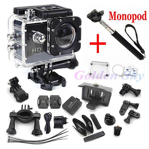 Full HD видеорегистратор SJ4000 для экстремальных видов спорта, в контакте монопод от MiniInTheBox.com INT