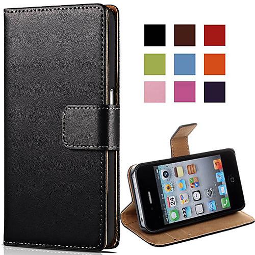 Кейс для Назначение iPhone 4/4S Apple Чехол Твердый Кожа PU для iPhone 4s/4 чехол для iphone 4 глянцевый с полной запечаткой printio эфиопка