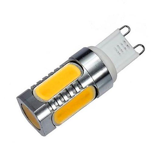 10W G9 LED лампы типа Корн T 5 COB 900 lm Тёплый белый / Холодный белый Декоративная AC 220-240 V 1 шт. <br>