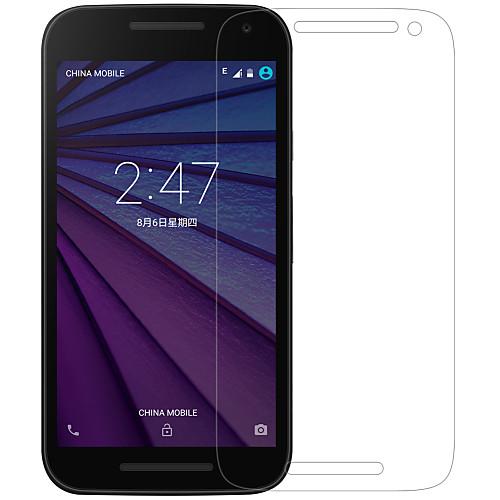 Защитная плёнка для экрана для Motorola Мото G3 PET 1 ед. Защитные пленки Ультратонкий