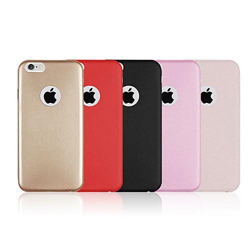 Кейс для Назначение Apple iPhone 6 iPhone 6 Plus Other Кейс на заднюю панель Сплошной цвет Твердый Кожа PU для iPhone 6s Plus iPhone 6s фотонабор olloclip studio для apple iphone 6 6s plus black oc 0000169 eu