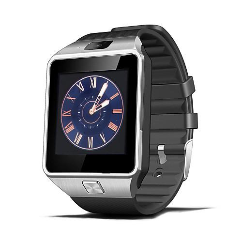 Новые смарт-часы, шагомер / сидячее напоминание / мониторинг сна / дистанционная камера / функция против потери, DZ09 с Bluetooth V4