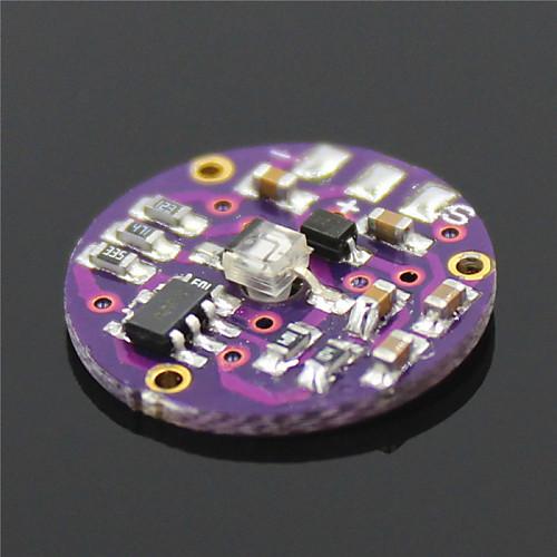 импульса частота сердечных сокращений / датчик для Arduino плата-черный (работает с официальными плат Arduino) от MiniInTheBox.com INT