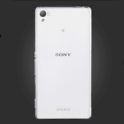 Кейс для Назначение Sony Z5 Sony Xperia Z3 Sony Xperia Z2 Другое Sony Xperia Z5 Xperia Z3 Кейс для Sony Ультратонкий Прозрачный Кейс на защитная пленка для мобильных телефонов sony xperia z3 z3