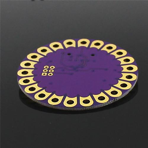 Плата  Lilypad ATmega328P для развития Arduino - фиолетовый  золото от MiniInTheBox.com INT