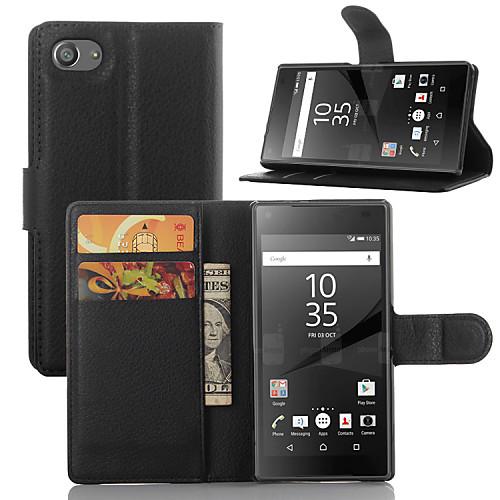 Кейс для Назначение Sony Z5 / Sony Xperia Z3 / Sony Xperia Z3 Compact Xperia Z5 / Xperia Z3 / Кейс для Sony Бумажник для карт / Кошелек / чехлы для телефонов nillkin sony xperia z3 l55 super frosted shield