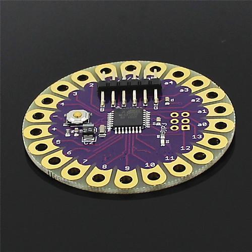 Плата  Lilypad ATmega328P для развития Arduino - фиолетовый  золото <br>