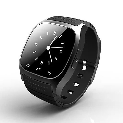 Smartwatch for iOS / Android Smart Case / Long Standby / Touch Screen / Anti-lost / Sports Activity Tracker / Sleep Tracker / Sedentary Reminder / Alarm Clock / Barometer / 64MB / Proximity Sensor
