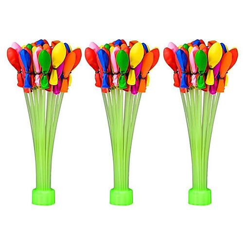 Воздушные шары Бассейны и водные развлечения Водные шары Надувной Для вечеринок Силикон 110pcs Куски Мальчики Подарок