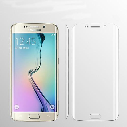 Защитная плёнка для экрана Samsung Galaxy для S6 edge plus TPU 1 ед. Защитная пленка для экрана HD защитная пленка deppa комплект защитных пленок для galaxy s6 edge