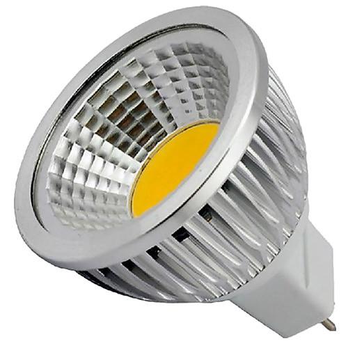4 Вт. 400 lm GU5.3(MR16) Точечное LED освещение MR16 1 светодиоды COB Декоративная Тёплый белый Холодный белый DC 12V