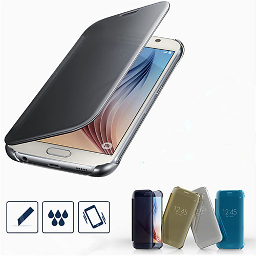 Кейс для Назначение SSamsung Galaxy Кейс для Samsung Galaxy Покрытие Чехол Сплошной цвет ПК для S7 edge S7 S6 edge plus S6 edge S6 лампа f0 f3 l3 s7 s6