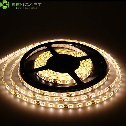 SENCART Гибкие светодиодные ленты 300 светодиоды Тёплый белый Белый Зеленый Желтый Синий Красный Пульт управления Можно резать