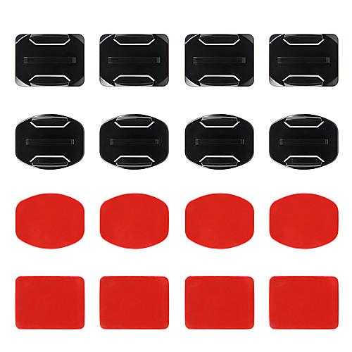 Купить со скидкой Curved Adhesive Pads Flat Adhesive Pads Клейкий Монтаж Многофункциональный Для Экшн камера Все Gopro