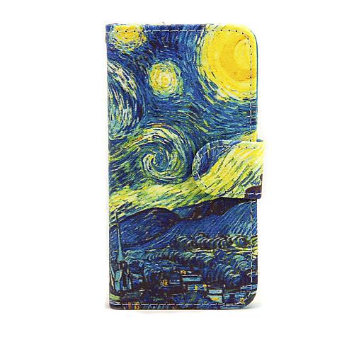 Кейс для Назначение Apple iPhone 7 Plus iPhone 7 Бумажник для карт Кошелек со стендом Флип Чехол Цвет неба Пейзаж Твердый Кожа PU для чехол для для мобильных телефонов cy apple iphone 4 4 g 4s 5 5 g 5s 5c 6 6 for 4 4s 5 5s 5c 6 or 6plus