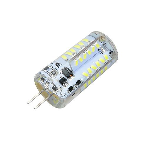 3W 3000-3500/6000-6500lm G4 Двухштырьковые LED лампы T 57 Светодиодные бусины SMD 3014 Декоративная Тёплый белый Холодный белый 12V