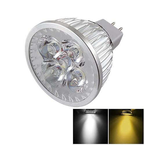 YouOKLight 400 lm GU5.3(MR16) Точечное LED освещение MR16 4 светодиоды Высокомощный LED Диммируемая Декоративная Тёплый белый Холодный