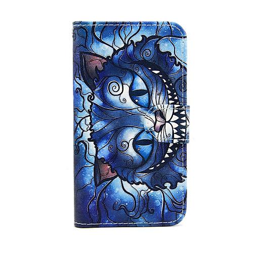 Кейс для Назначение SSamsung Galaxy Кейс для Samsung Galaxy Бумажник для карт Кошелек со стендом Флип Чехол Кот Кожа PU для S5 Mini S4 чехол для для мобильных телефонов oem sumsung galaxy s5 wood case for sumsung galaxy s5