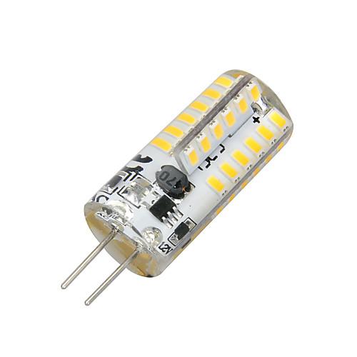 2 Вт. 100-200 lm G4 LED лампы типа Корн T 48 светодиоды SMD 3014 Тёплый белый AC 12V