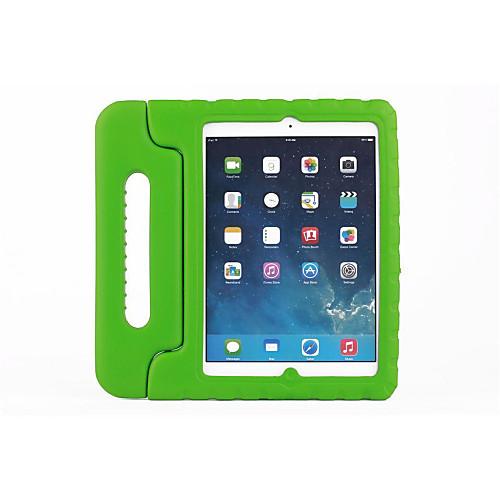 Кейс для Назначение Apple Защита от удара / со стендом Чехол Однотонный Этиленвинилацетат для iPad Air