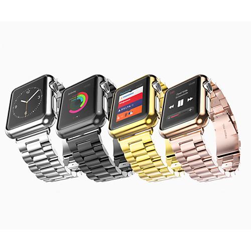 Купить со скидкой Ремешок для часов для Apple Watch Series 4/3/2/1 Apple Бабочка Пряжка Нержавеющая сталь Повязка на з