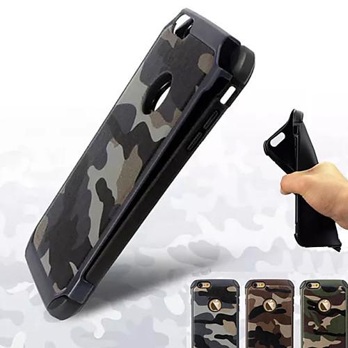 Кейс для Назначение Apple iPhone 8 iPhone 8 Plus Кейс для iPhone 5 iPhone 6 iPhone 6 Plus iPhone 7 Plus iPhone 7 Защита от удара Кейс на
