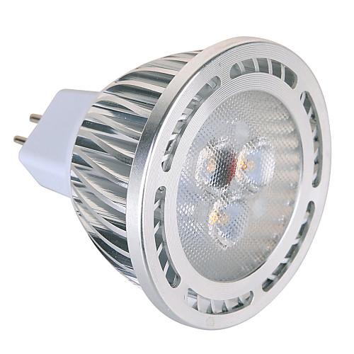 YWXLIGHT 450 lm GU5.3(MR16) Точечное LED освещение MR16 3 светодиоды SMD Декоративная Тёплый белый Холодный белый AC 12V AC 85-265V