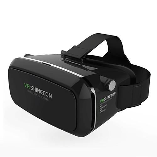 vr box shinecon виртуальная реальность 3d очки картон 2.0 vr гарнитура (черный цвет)
