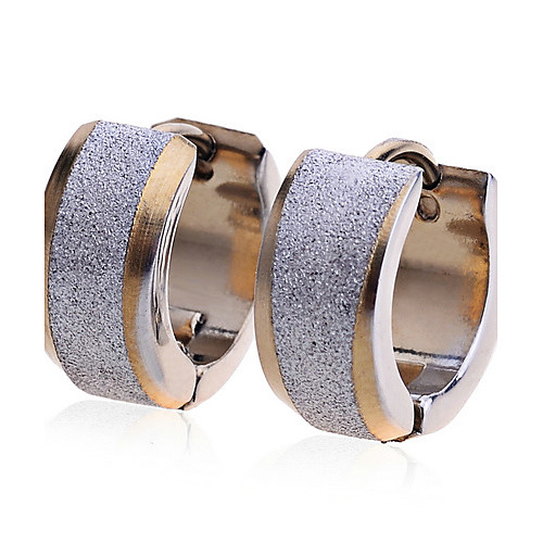 Жен. Нержавеющая сталь Позолота Серьги-гвоздики - Мода европейский Золотой Серьги Назначение Для вечеринок Повседневные