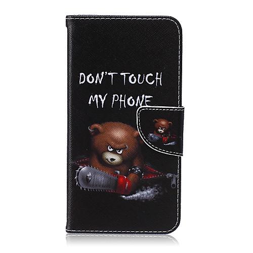 Кейс для Назначение SSamsung Galaxy Кейс для Samsung Galaxy Бумажник для карт Кошелек со стендом Флип Чехол Мультипликация Кожа PU для клип кейс ibox fresh для samsung galaxy s5 mini черный