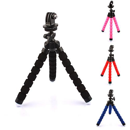 Аксессуары Трипод Высокое качество Для Экшн камера Gopro 5 Xiaomi Camera Gopro 4 Gopro 3 Спорт DV пластик