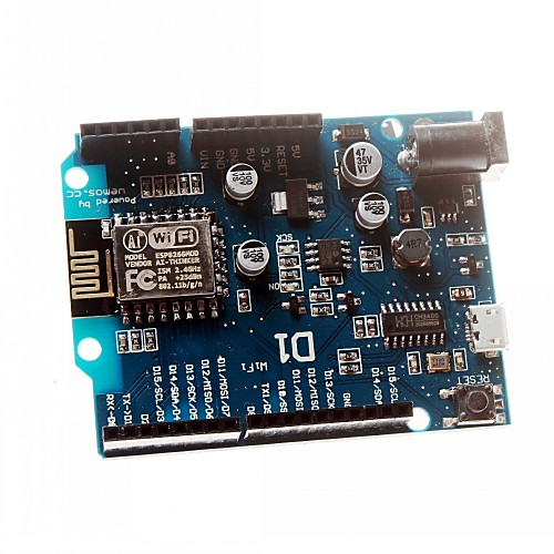Смарт Электроникс курсовой 12E wemos d1 WiFi ООН на основе esp8266 щит для Arduino совместимый модуль board новая версия разработка wifi на основе веб сервер esp8266