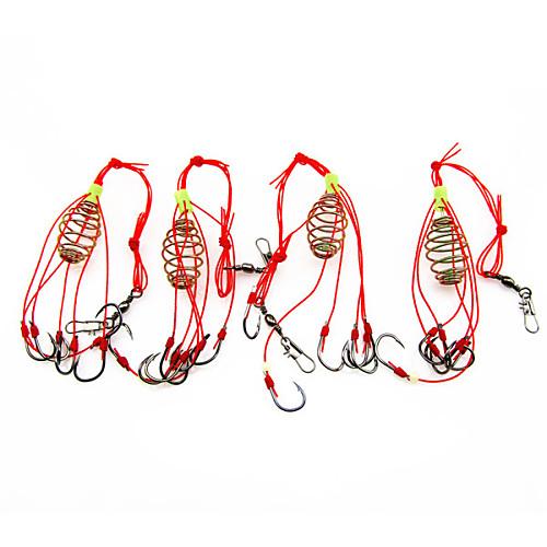 Рыболовные принадлежности Для рыбалки - 4 штук - Прост в применении Нержавеющая сталь/железо - Морское рыболовство Ловля нахлыстом Ловля