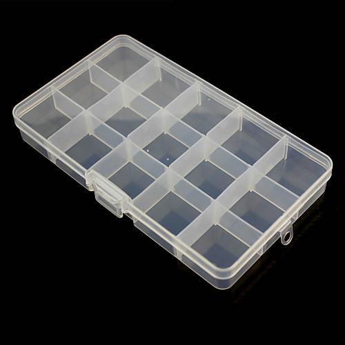 15-купе свободное сочетание пластиковая коробка для хранения технических средств