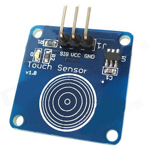 коснуться емкостного датчика модуль сенсорного переключателя для Arduino - синий