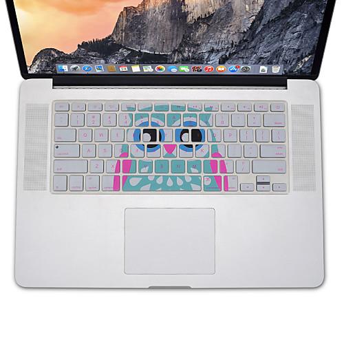 дизайн сова крышка силиконовая клавиатура кожи для MacBook Air 13.3, MacBook Pro с сетчатки 13 15 17 нам макет snowkids apple macbook air 13 pro 15 4 retina ультратонкий мембранная клавиатура совершенно ясно