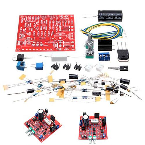 0-30V 2 мА - 3а регулируемые DC регулируется питания DIY Kit короткого замыкания ограничение тока Защита указатели короткого замыкания типа укз