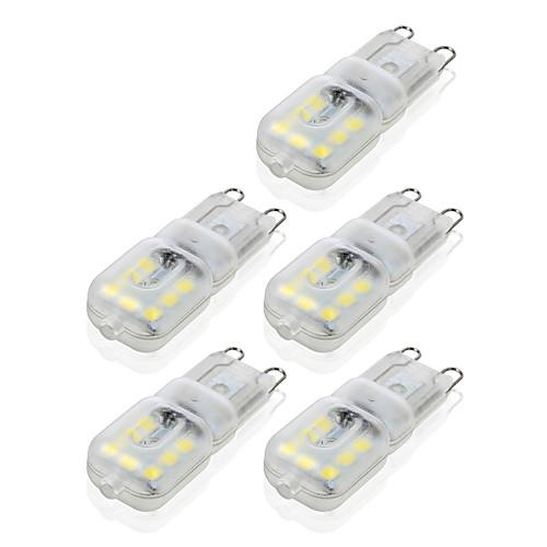 4W G9 Двухштырьковые LED лампы T 14 светодиоды SMD 2835 Диммируемая Декоративная Тёплый белый Холодный белый 300-400lm 2800-3200/6000-6500
