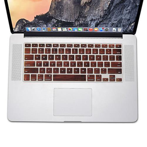 дерево шаблон дизайна Силиконовый чехол клавиатуры кожи для MacBook Air 13.3 MacBook Pro с сетчатки 13 15 17 нам макет аксессуар док станция henge docks hd01va17mbp для macbook pro 17