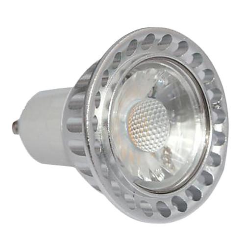 3W GU10 Точечное LED освещение MR16 1 COB 240 lm Тёплый белый Регулируемая AC 220-240 V