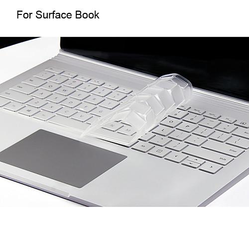 xskn ультра кожа тонкая прозрачный ТПУ кожи клавиатуры полупрозрачный клавиатура для Microsoft Surface книги, нам макет microsoft surface book
