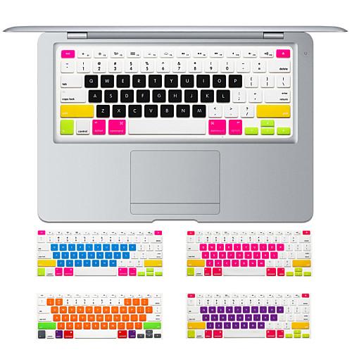красочный дизайн конфеты крышка силиконовая клавиатура кожи для MacBook Air 13.3 MacBook Pro с сетчатки 13 15 17 нам макет